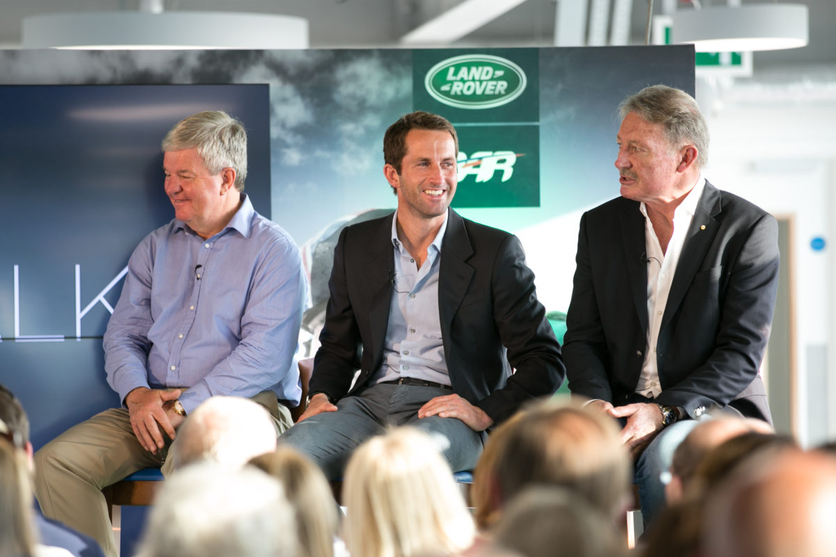 IN CONVERSATION WITH BEN AINSLIE