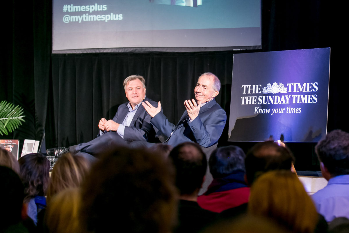 AN EVENING WITH ED BALLS AND PHILIP WEBSTER