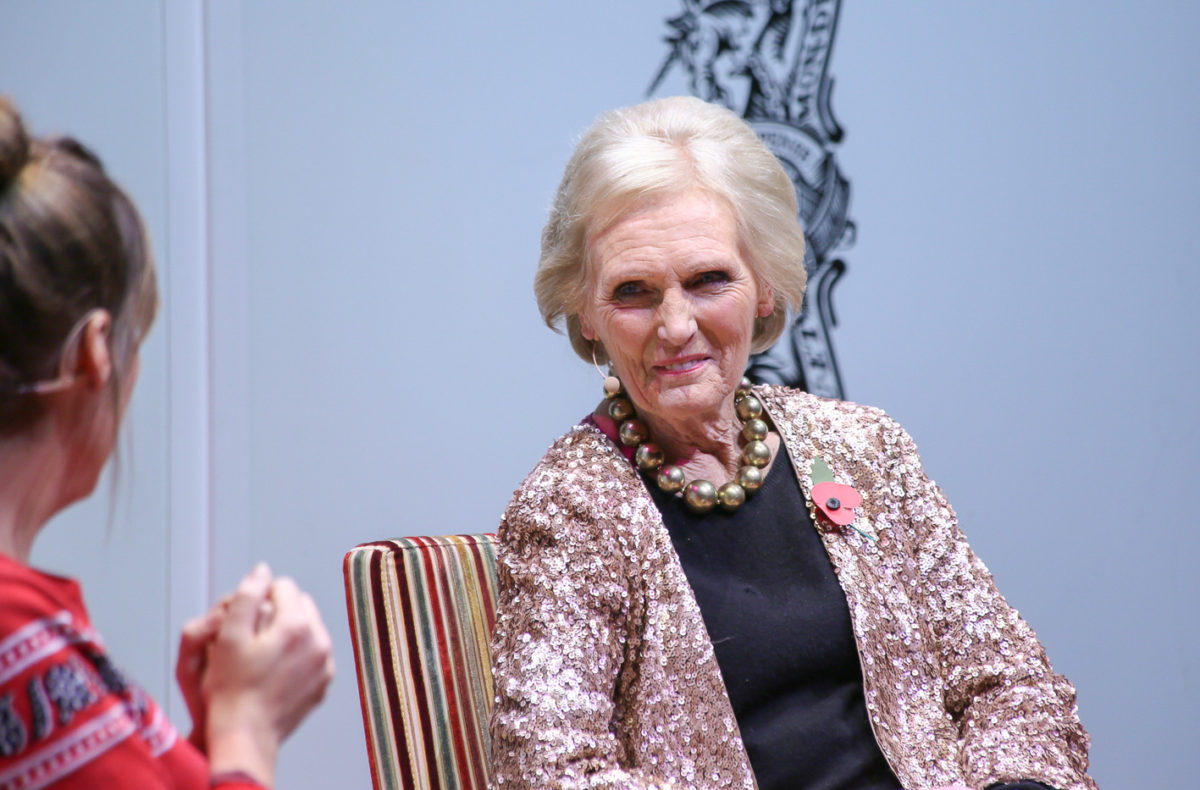 IN CONVERSATION WITH MARY BERRY