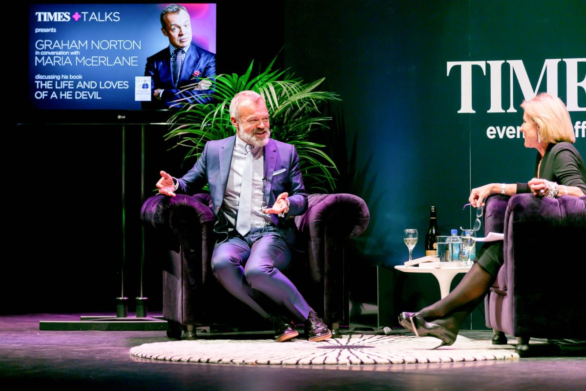 IN CONVERSATION WITH GRAHAM NORTON