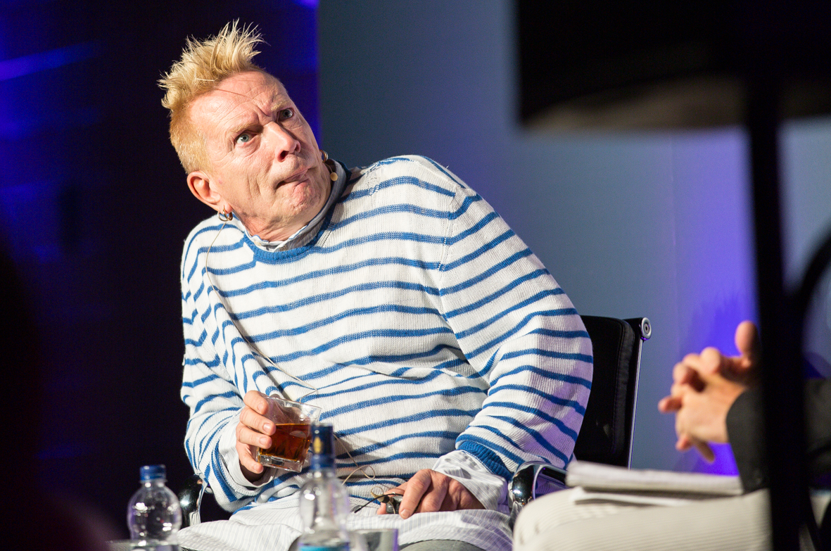 EXCLUSIVE Q&A WITH JOHN LYDON, HOSTED BY WILL HODGKINSON, AT THE OLD TRUMAN BREWERY