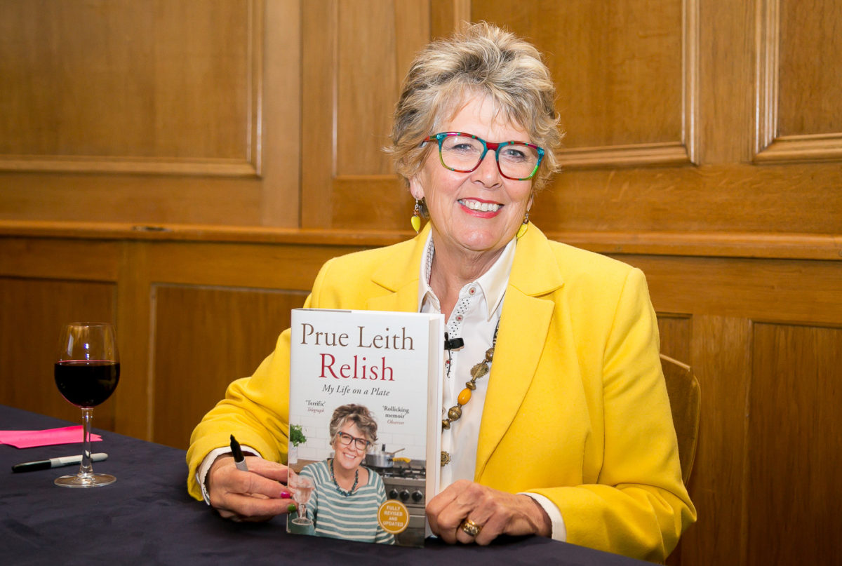 AN EVENING WITH PRUE LEITH. THE ASSEMBLY HALL AT CHURCH HOUSE, WESTMINSTER