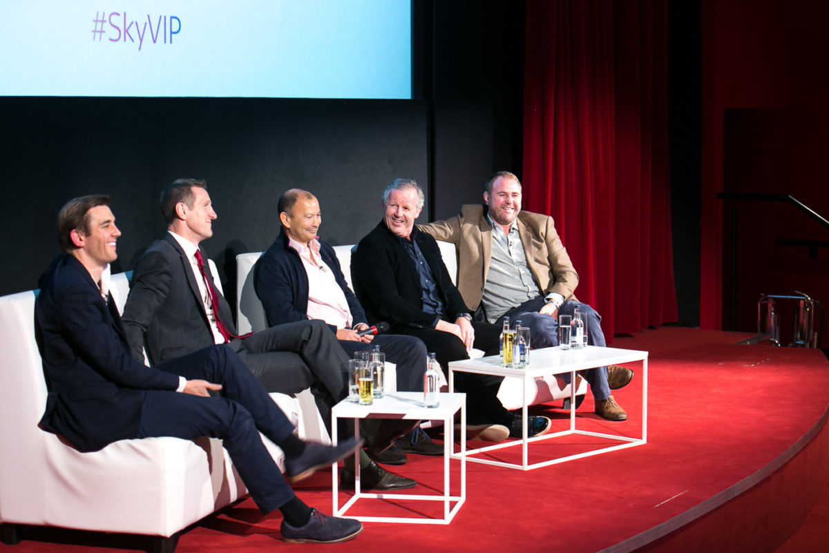 SKY VIP. AN AUDIENCE WITH SKY SPORTS RUGBY LEGENDS