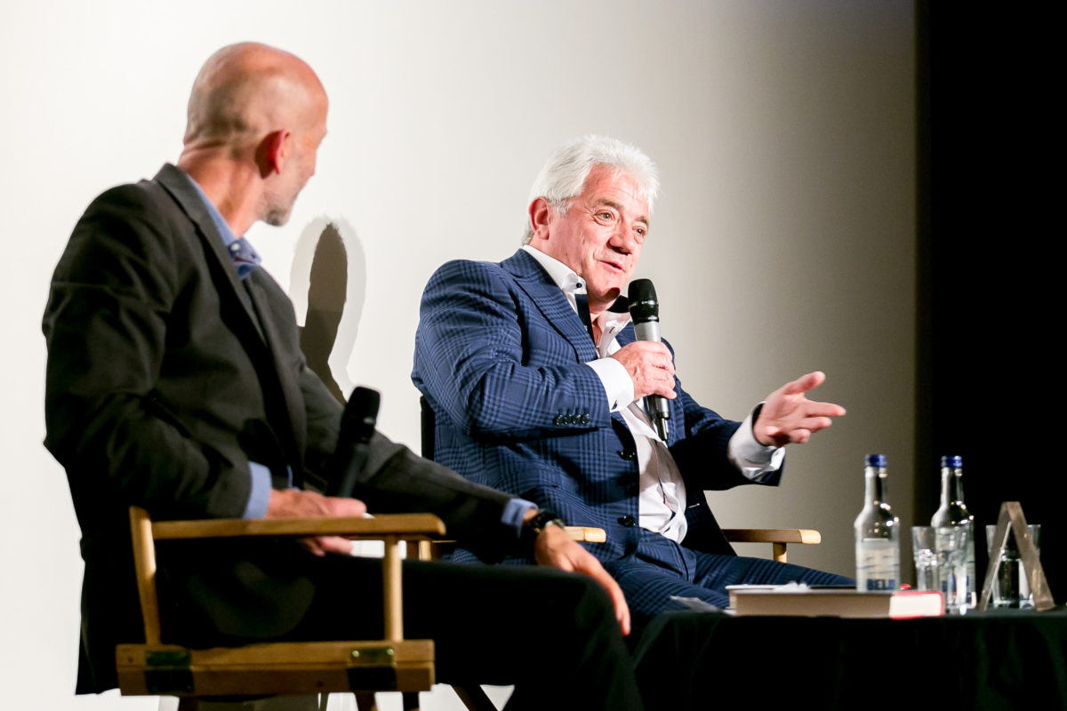 AN EVENING WITH KEVIN KEEGAN AT CURZON SOHO