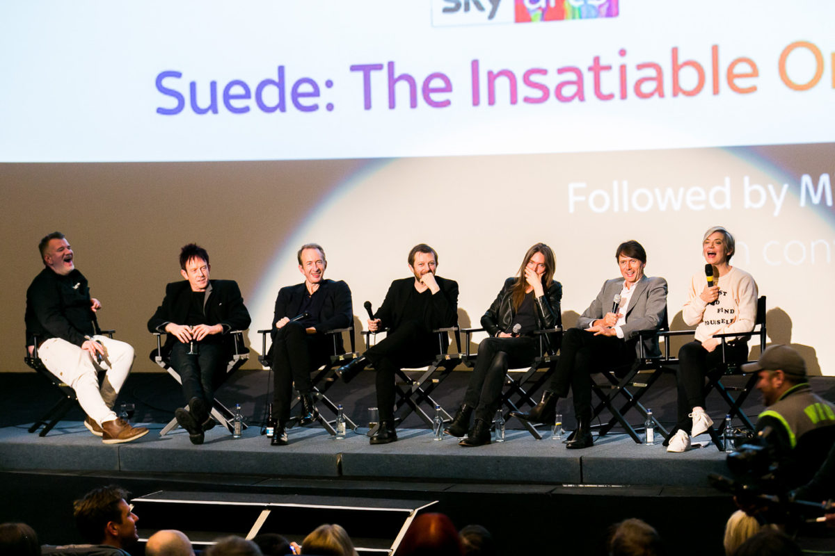 SUEDE: THE INSATIABLE ONES. PRIVATE SCREENING AT CURZON MAYFAIR