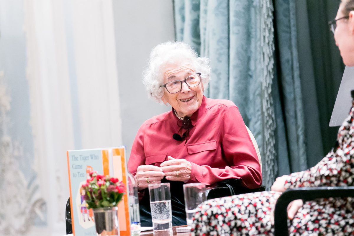 Afternoon tea at The Savoy with Judith Kerr